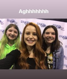 """@madelame with fans #heroesandvillains #riverdale #madelainepetsch"""
