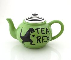 Tea Rex Dinosaur Teapot - Handmade in the USA