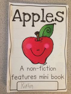 Last week was apple week, and if you know me, you know I LOVE planning some thematic activities about apples!  Such a fun time of year!  ...