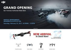 DJI, the prominent pioneer in state of the art unmanned aerial photography equipment, has its sagacious eyes set on the North American Market, aiming to rattle the entire drone business in 2017. San Francisco residents are going to embrace an extraordinary month of February: the very first DJI authorised store, Magic Sky, will go into …