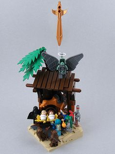 Brickwarriors 2 5 Quot Scale David And Goliath Battle Pack