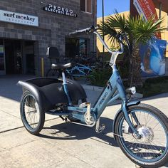 Electric Trike, Adult Tricycle, Cargo Bike, Pacific Beach, Disability, Scooters, Trailers, More Fun, Skeleton