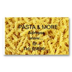 Get customizable Italian business cards or make your own from scratch! ✅ Premium cards printed on a variety of high quality paper types. Noodles, Business Cards, How To Make, Food, Noodle, Meal, Visit Cards, Essen, Carte De Visite