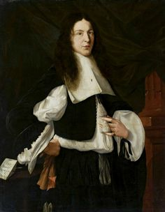 Portrait of Michael Lolien with a fly on his collar by Johann Georg Haintz, ca. 1665 (PD-art/old), Muzeum Narodowe w Warszawie (MNW)