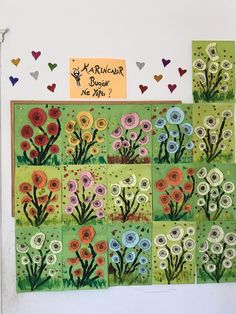 Image gallery – Page 834151162206079133 – Artofit Spring Art Projects, Spring Crafts For Kids, Summer Crafts, Art For Kids, Projects For Kids, Flower Crafts, Flower Art, Love Painting, Art Plastique