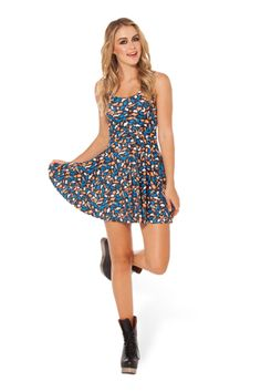 Road Kill Reversible Skater Dress