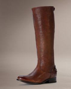 Women's Melissa Button Back Zip Boot - Brown (CountryOutfitter.com)  FRYE-3476430-BRN