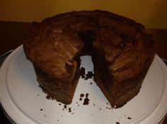 Chocolate Cream Cheese Pound Cake Recipe