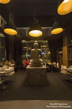 Main dining room at Hiro 88, in Downtown Omaha. http://www.kurtjohnsonphotography.com/
