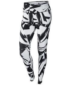 Amazon.com: Nike Womens Legend 2.0 Floe Tight Jogging Pants (Medium, White/Black/Black): Sports & Outdoors