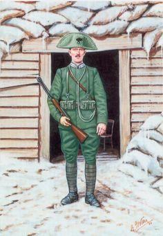 Regio Esercito - Carabiniere a piedi, 1915