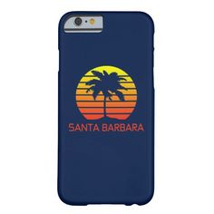 Santa Barbara Retro Barely There #iPhone 6 Case