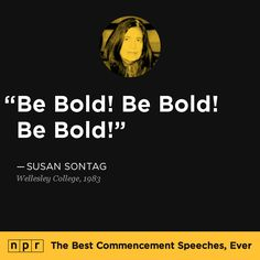 NPR Posts Collection of 'The Best Commencement Speeches, Ever'