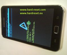 #Unlock forgotten #password on your Galaxy S Wifi 5.0 #Android media player device using hard reset.
