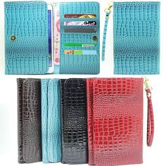 New Crocodile Leather for Universal Android Tablet 7 inch PU Leather Case Cover For Kids wallet with card slot S4C31D #Affiliate