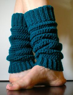 PATTERN:  Classic Warmers, Easy Crochet PDF
