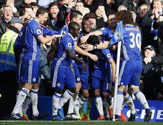 Chelsea 3-1 Arsenal, 4 Feb 17