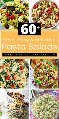 cheap, easy and delicious best summer pasta salad recipes. Perfect as a quick lunch or easy weeknight side dish. #pastasalad #pastasaladrecipes #summersalads #summerpastasaladrecipes
