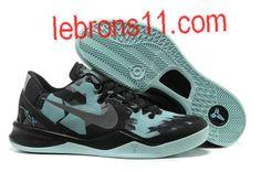 Kobe Bryant 8 Black New Blue Shoes Kobe Bryant 8, Pedestrian, Blue Shoes, Shoe Sale, Air Jordans, Sneakers Nike, Ps, Black, Nike Tennis