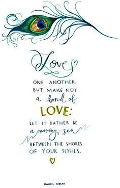Love quote via www.Facebook/surfingrainbows