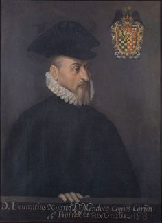 Don Lorenzo Suárez de Mendoza, virrey de la Nueva España.