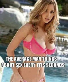 How often do men think about sex