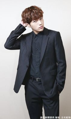 L as handsome as always Hot Korean Guys, Korean Men, Asian Actors, Korean Actors, Kim Myungsoo, Infinite Members, Dong Woo, Hyung Sik, Woollim Entertainment