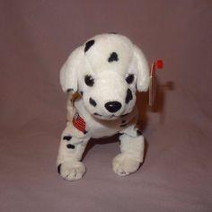 0b9fc0a09e8 Rescue Dalmatian Dog 2001 Ty Beanie Babies Plush Stuffed Animal 7