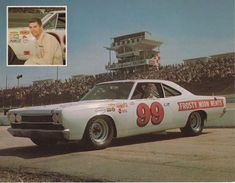 Dirt Racing, Auto Racing, Nascar, Dodge Muscle Cars, Race Tracks, Grand National, Trans Am, Vintage Race Car, Road Runner
