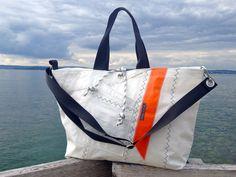 Segeltuchtasche/Segeltasche/Segel/Strand/Tasche  von Rough Element auf DaWanda.com