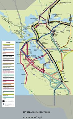 12 Best Bay Area Transit Maps images