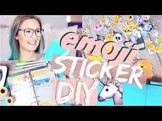 5 EMOJI DIY's - Handyhülle, Nageldesign & co. | ViktoriaSarina - YouTube