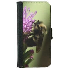 Bumble Bee, iPhone Wallet Case. iPhone 6 Wallet Case