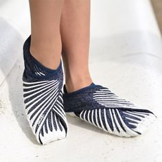 Wrap-around Furoshiki Shoes produced by barefootinc.