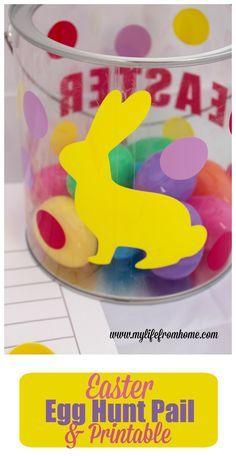 Easter Egg Hunt Pail