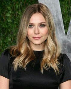 Elizabeth Olsen - hair color for fall/winter
