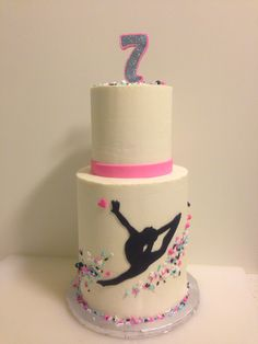 """Explore our internet site for even more details on """"birthday desserts for kids"""". It is an exceptional location to get more information. Dance Birthday Cake, Gymnastics Birthday Cakes, Gymnastics Party, 10th Birthday, Teen Cakes, Girl Cakes, Trampoline Cake, Gym Cake, Fondant Decorations"""