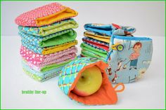 Jace did it !: Healthy line-up ! Baby Patterns, Sewing Patterns, Sewing Hacks, Sewing Projects, Craft Eyes, Birthday Gift Bags, Little Presents, Couture Sewing, Sewing Clothes