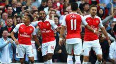 Arsenal permalukan MU di kandang dalam laporan jadwal Liga Inggris 2015 hari ini