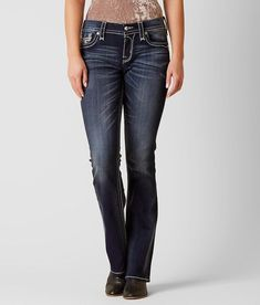 9c0a36df9b7 Rock Revival Leni Easy Boot Stretch Jean - Women s Jeans in Leni E202