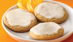 Honey Orange Cookies