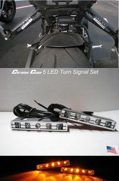Motorcycle LED TURN Signal Blinker Rear Peg Indicators Bike Under Tail Light VTX   eBay Motors, Parts & Accessories, Motorcycle Parts   eBay!