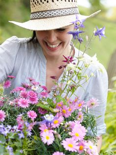 Picking flowers for your home...