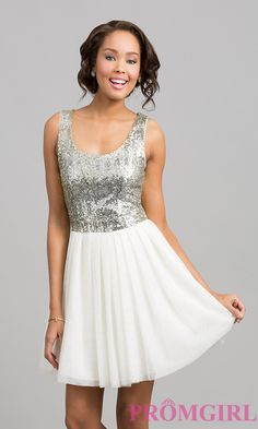 Short Homecoming Dress Style: BD-I5865954 Front Image