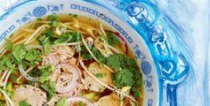 Pho Bo, Ramen, Meat, Chicken, Ethnic Recipes, Czech Food, Soups, Asia