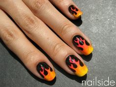For the gradient, I prefer the tutorial at http://nailsbyanne.blogspot.com/ -- but this is a fun idea!