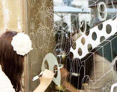 Window Painting by Yoko Furusho