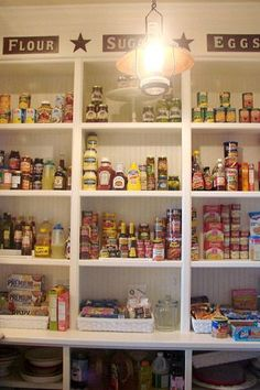Perfect idea for my pantry.