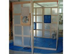Canopy Pop Up Tent Turned Spray Booth Garage Inspiration