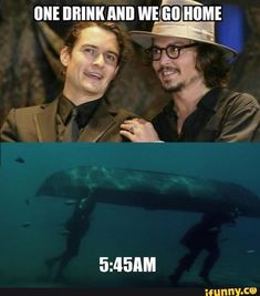 Image uploaded by Jessica Ogden. Find images and videos about johnny depp, pirates of the caribbean and orlando bloom on We Heart It - the app to get lost in what you love. Really Funny Memes, Stupid Funny Memes, Funny Relatable Memes, Funny Fails, The Funny, Hilarious, Daily Funny, Jack Sparrow Funny, Jack Sparrow Quotes